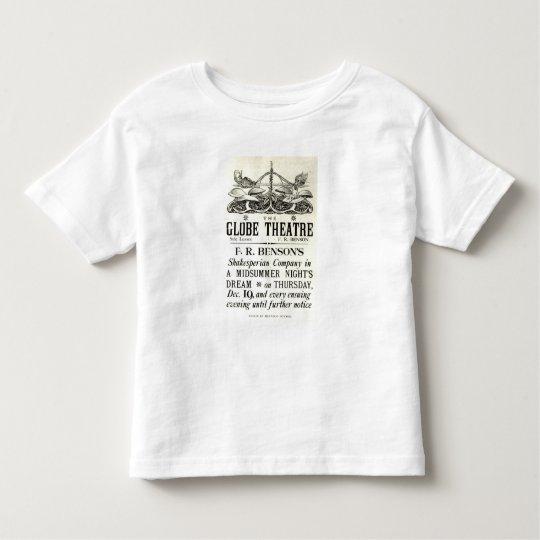 Poster advertising 'A Midsummer Night's Dream' Toddler T-shirt