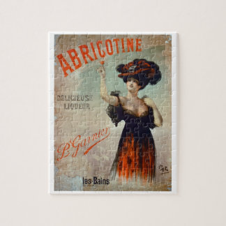 Poster advertising 'Abricotine', made by P. Garnie Puzzle