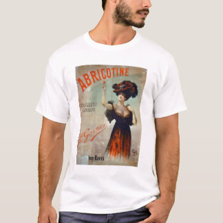 Poster advertising 'Abricotine', made by P. Garnie T-Shirt