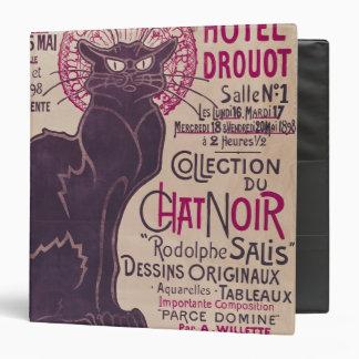 Poster advertising an exhibition vinyl binders