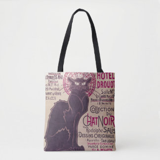 Poster advertising an exhibition tote bag