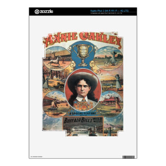 Poster advertising Annie Oakley featuring in Buffa Decals For iPad 3