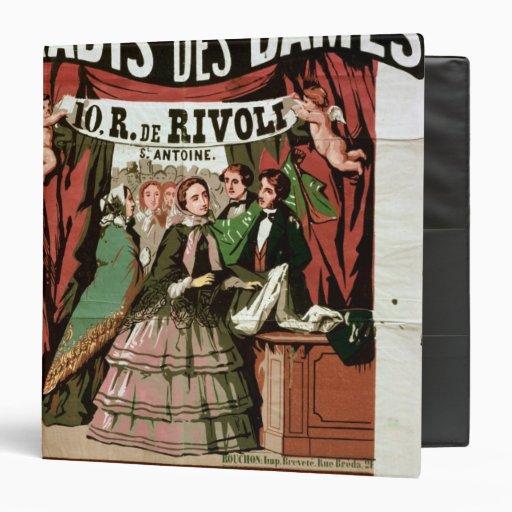 Poster advertising 'Au Paradis des Dames' Binders