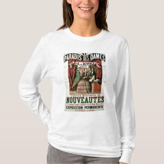Poster advertising 'Au Paradis des Dames' T-Shirt