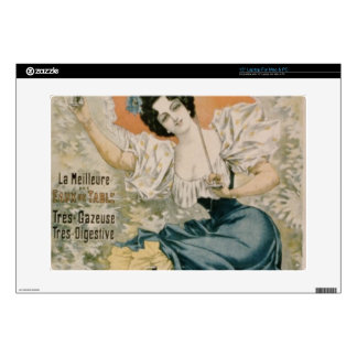 Poster advertising 'Brault Natural Mineral Water f Decal For Laptop