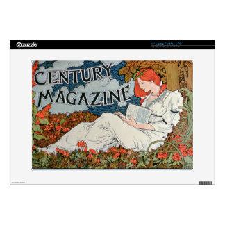 "Poster advertising 'Century Magazine', Midsummer H Decals For 15"" Laptops"
