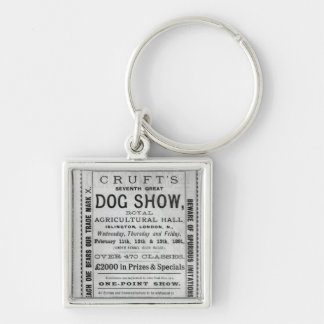 Poster advertising Cruft's Dog Show Key Chain