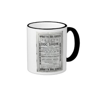 Poster advertising Cruft's Dog Show Coffee Mugs