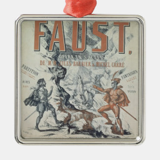 Poster advertising 'Faust' Christmas Ornaments