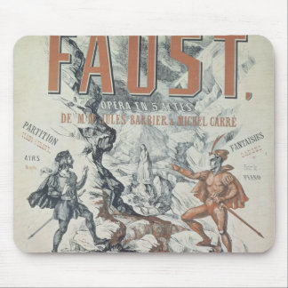 Poster advertising 'Faust' Mouse Pad