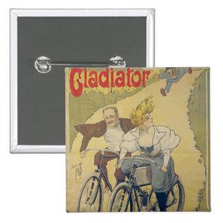 Poster advertising Gladiator bicycles Pin