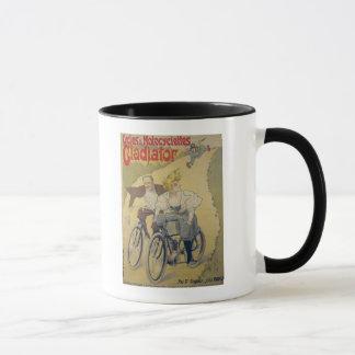 Poster advertising Gladiator bicycles Mug
