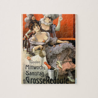 Poster Advertising 'Grosse Redoute' (colour litho) Jigsaw Puzzle