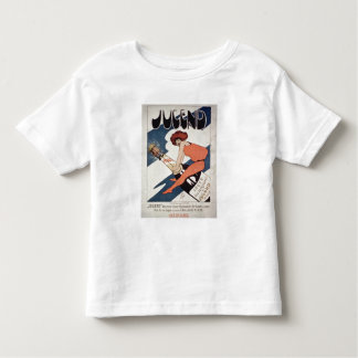 Poster advertising 'Jugend, illustrated Weekly Mag Shirts