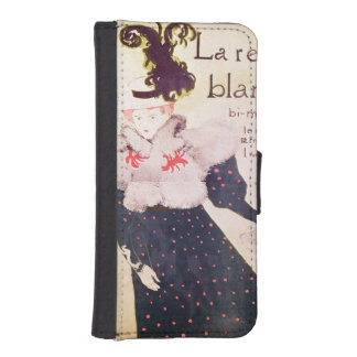 Poster advertising 'La Revue Blanche', 1895 iPhone SE/5/5s Wallet
