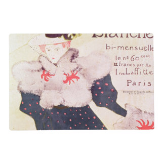 Poster advertising 'La Revue Blanche', 1895 Laminated Place Mat