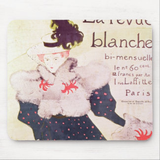 Poster advertising 'La Revue Blanche', 1895 Mouse Pad