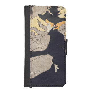 Poster advertising 'Le Divan Japonais', 1892 2 Wallet Phone Case For iPhone SE/5/5s