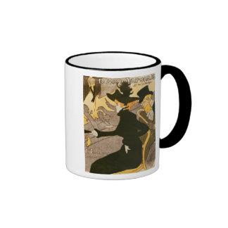 Poster advertising 'Le Divan Japonais', 1892 Ringer Coffee Mug