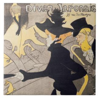 French ceramic tiles zazzle for Divan japonais poster value