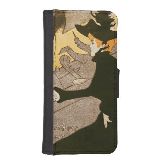 Poster advertising 'Le Divan Japonais', 1892 Wallet Phone Case For iPhone SE/5/5s