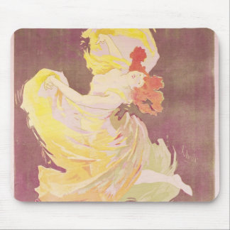 Poster advertising Loie Fuller Mouse Pad