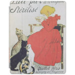 Poster advertising Pure Sterilised Milk iPad Cover