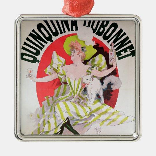 Poster advertising Quinquina Dubonnet' Metal Ornament