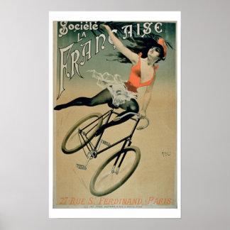 Poster advertising 'Societe La Francaise', Paris (