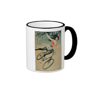 Poster advertising 'Societe La Francaise', Paris ( Ringer Coffee Mug