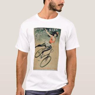 Poster advertising 'Societe La Francaise', Paris ( T-Shirt