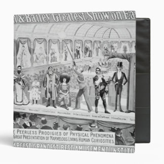 Poster advertising, 'The Barnum and Bailey 3 Ring Binder