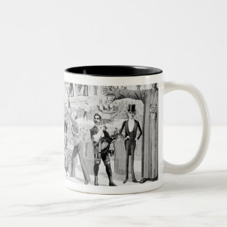 Poster advertising, 'The Barnum and Bailey Two-Tone Coffee Mug