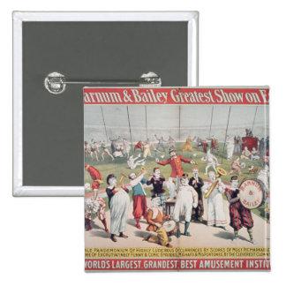 Poster advertising the Barnum Pin