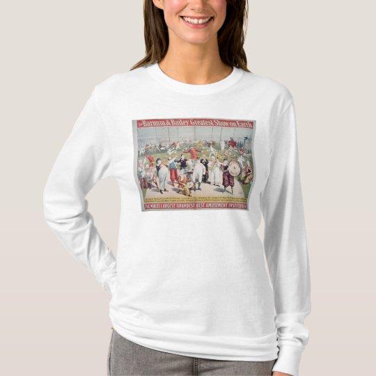 Poster advertising the Barnum T-Shirt