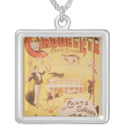 Poster advertising the Cirque d'Ete in the Silver Plated Necklace