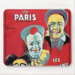 Poster advertising the 'Cirque d'Hiver de Paris' Mouse Pad