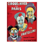 Poster advertising the 'Cirque d'Hiver de Paris' Postcards