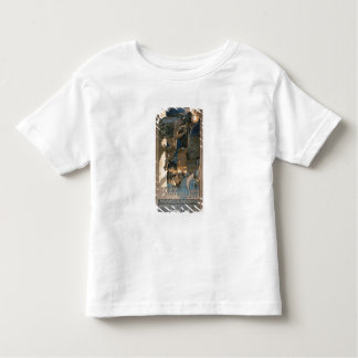 Poster advertising the 'Corriere della Sera', prin Toddler T-shirt