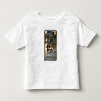 Poster advertising the 'Corriere della Sera', prin Toddler T-shirt