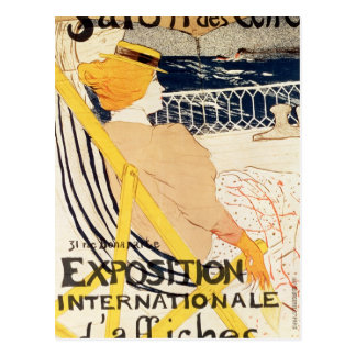Poster advertising the Exposition Postcards