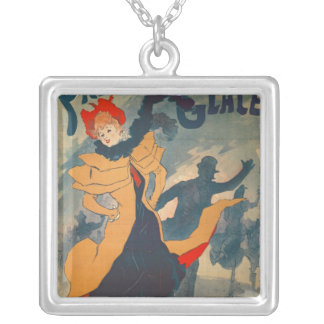 Poster advertising the Palais de Glace Silver Plated Necklace