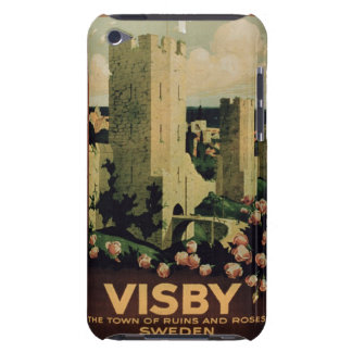 Poster advertising the town of Visby, Sweden (colo Barely There iPod Cover
