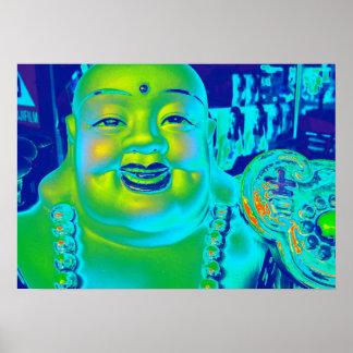 """""""Poster afortunado de Buda """" Póster"""