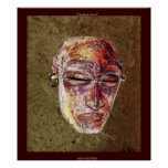 Poster africano del arte de la máscara del ALCOHOL