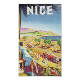 Poster agradable del viaje del vintage
