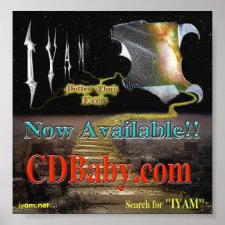Poster ahora disponible de CDBaby.com