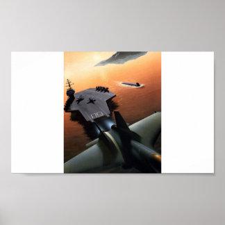 Poster Aircraft Carrier