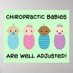 Poster ajustado pozo de los bebés
