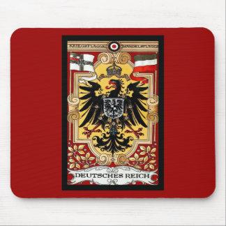 Poster alemán WW1 del vintage del ~ del Reich de D Alfombrillas De Raton